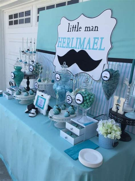 Baby Shower Ideas by Mustache Baby Shower Baby Shower Ideas Photo 9 Of