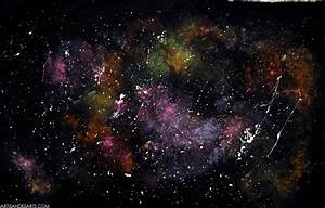 Amazing Galaxy Paint #11 Space Galaxy Painting | Newsonair.org