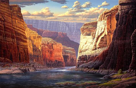 canyon hd wallpaper background image  id