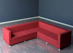 building rfa sectional sofa couch With sectional sofa revit