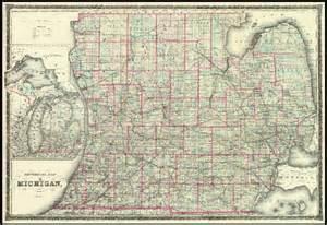 Michigan Lower Peninsula Map
