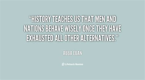 abba eban quotes quotesgram