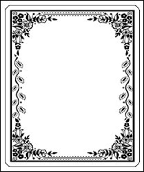 Bookplate Templates For Word Laser And Inkjet Bookplates Border 150 Pk