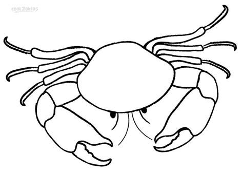 crab colors printable crab coloring pages for cool2bkids