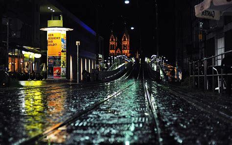 rain city night rain   city hd wallpapers