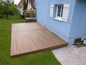 Terrasse Bois Composite : stunning photo terrasse composite ideas ~ Premium-room.com Idées de Décoration