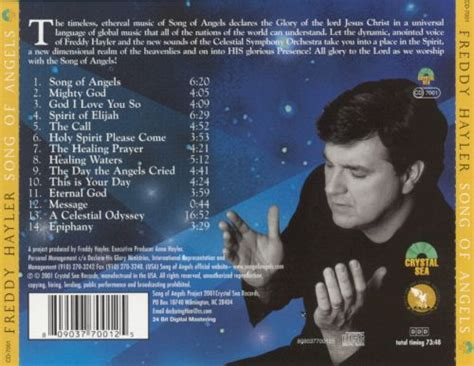 Whether you're missing a brother who has passed away, or if distance is keeping you apart, this playlist features songs that express how hard it is not have him around. Song of Angels: Experiencing The Atmosphere of Heaven - Freddy Hayler | Songs, Reviews, Credits ...