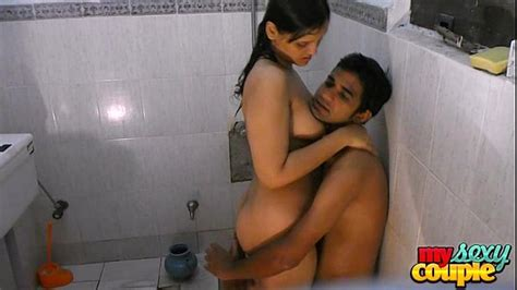 Indian Hot Couple Hardcore Sex In Shower At Hotel