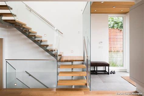 garde corps d escalier interieur garde corps plexiglas with contemporain escalier d 233 coration de la maison et des id 233 es de