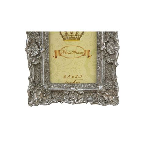 Cornici Stile Barocco Cornice Portafoto 13cm In Stile Barocco Argento Porta Foto