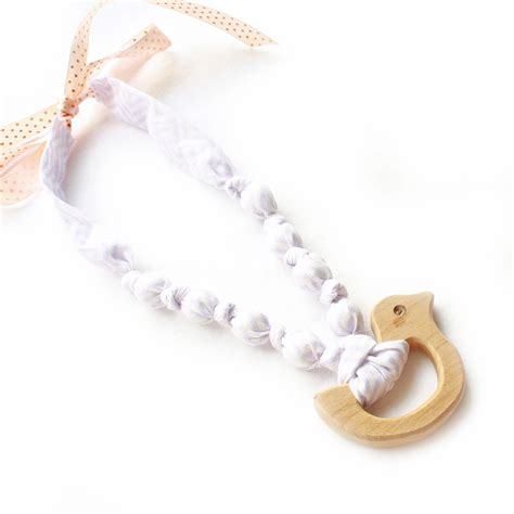 Natural Nursing Necklace Baby Teething By Infinitybabyboutique
