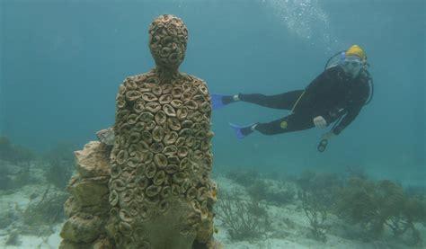 sculpture eavesdrops underwater science friday