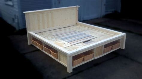 Recessed Platform Bed