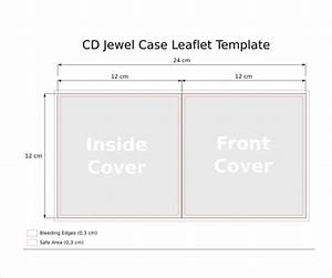 jewel case template 11 free word pdf psd eps With slim jewel case insert template