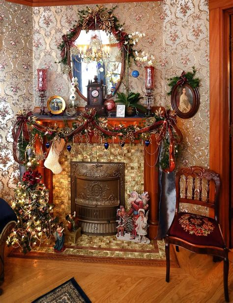 antiques abound   victorian homes christmas decor