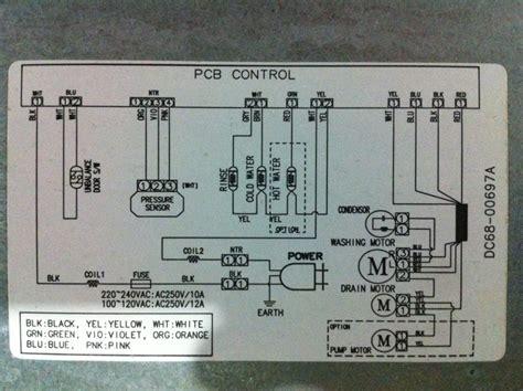 necesito el diagrama lavadora samsung modelo sw 903fp graci yoreparo