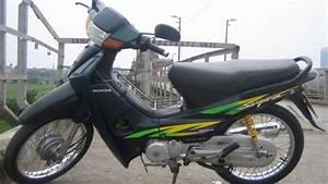 Luar Biasa  Pria Ini Sulap Honda Supra Jadi Ninja