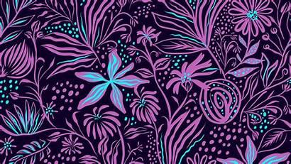 Patterns Flowers Texture Floral Background Plants Digital