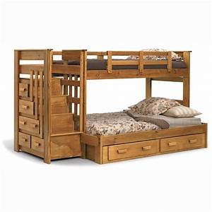 Bedroom. Magnificent Twin Over Full Bunk Bed With Stairs ...