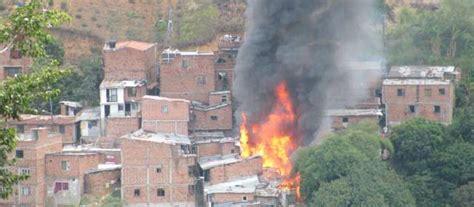Incendio Consumió Seis Casas En El Barrio Blanquizal De