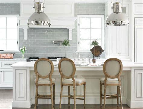 grey kitchen cabinets with backsplash gray glass tile backsplash design ideas