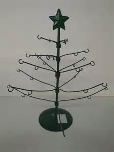 new adjustable metal tree ornament display stand green ebay