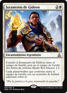 Juramento de Gideon (Oath of the Gatewatch) - Gatherer ...