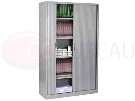 armoire a rideaux l 120 x h 200 cm corps aluminium rideaux aluminium