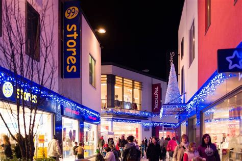 late night shopping events at st austell business cornwall