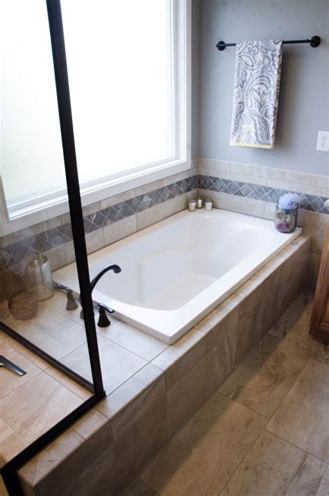 deck tub drop in soaker tubs are usually deck mounted with tile