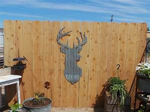 large corrugated metal deer With corrugated metal letters wholesale