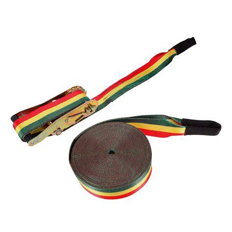kit slackline reggae cinta  metros  mm catraca
