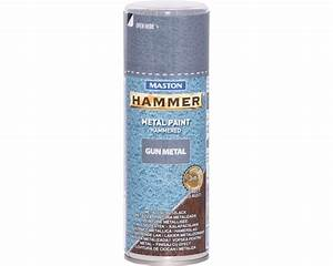 Spray Metall Hammer Gun Metal grau glanz 400 ml jetzt