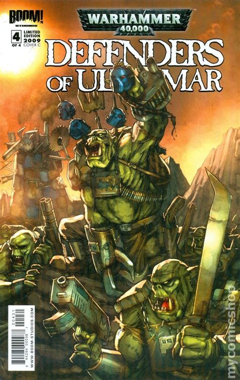 Warhammer 40K Defenders of Ultramar (2008) comic books
