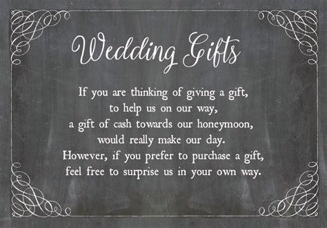 chalkboard wedding gift  card   wedding