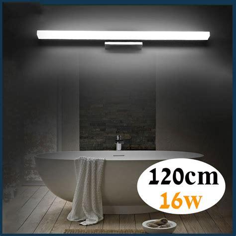 1200mm bathroom mirror light 85 265v 16w led bedroom mirror l foyer study wall sconce in