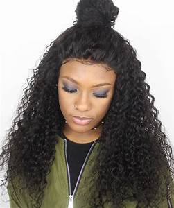 Brazilian Hair 180 Density Thick Deep Curly Full Lace