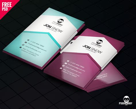 downloadcreative business card psd  psddaddycom