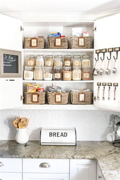 ways  organize  kitchen   budget diy tips