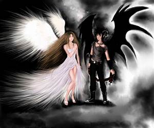 Angel and Demon Forbidden Love | Angel and Demon.. by ...