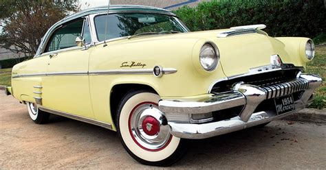 1954 Mercury Monterey Sun Valley in Yosemite Yellow ...