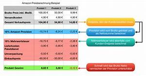Netto Preis Berechnen : amazon preise richtig berechnen das m ssen sie wissen active media production ~ Themetempest.com Abrechnung