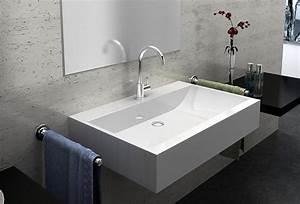 Moderne Waschbecken Bad : mineralguss waschbecken zur wandmontage in hamburg bad einrichtung und ger te kaufen und ~ Markanthonyermac.com Haus und Dekorationen