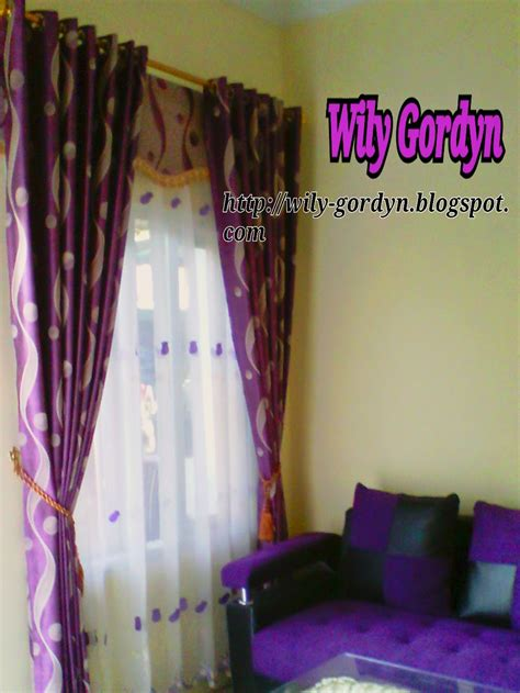 kombinasi warna cat ungu  cocok sobat interior rumah