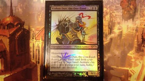 mtg infect deck edh xiahou dun mono black infect voltron edh commander