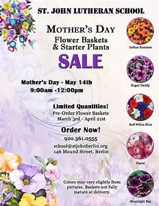 Mother's Day Flower Baskets & Starter Plant Sale | St ...