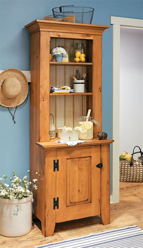 step  cupboard woodworking project woodsmith plans