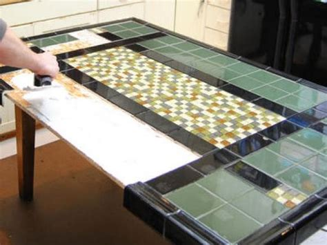 create a mosaic tile tabletop crafts diy table top and