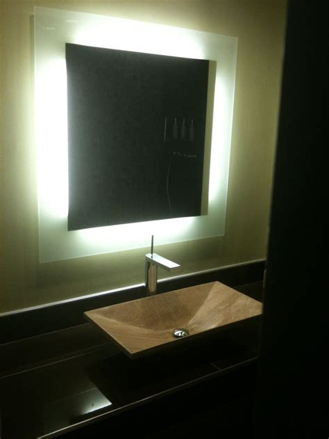 led strip lights  bathrooms images  pinterest