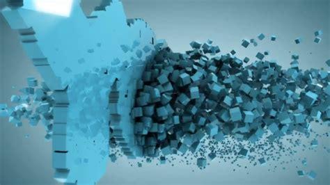 cinema  tutorial mograph  cubes  letters part